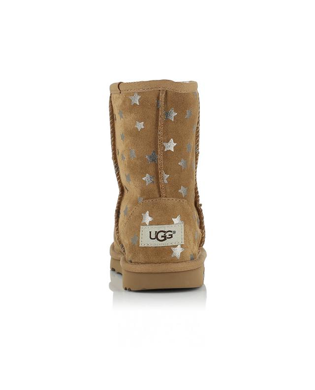 Ugg classic stars ankle boots camel a44159