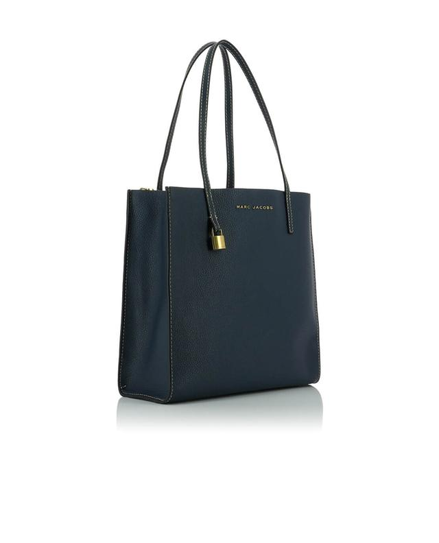 Marc jacobs shopper aus leder the grind blau a44286
