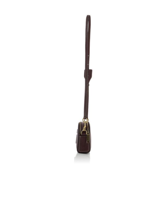 Marc jacobs shutter camera shoulder bag burgundy a44296