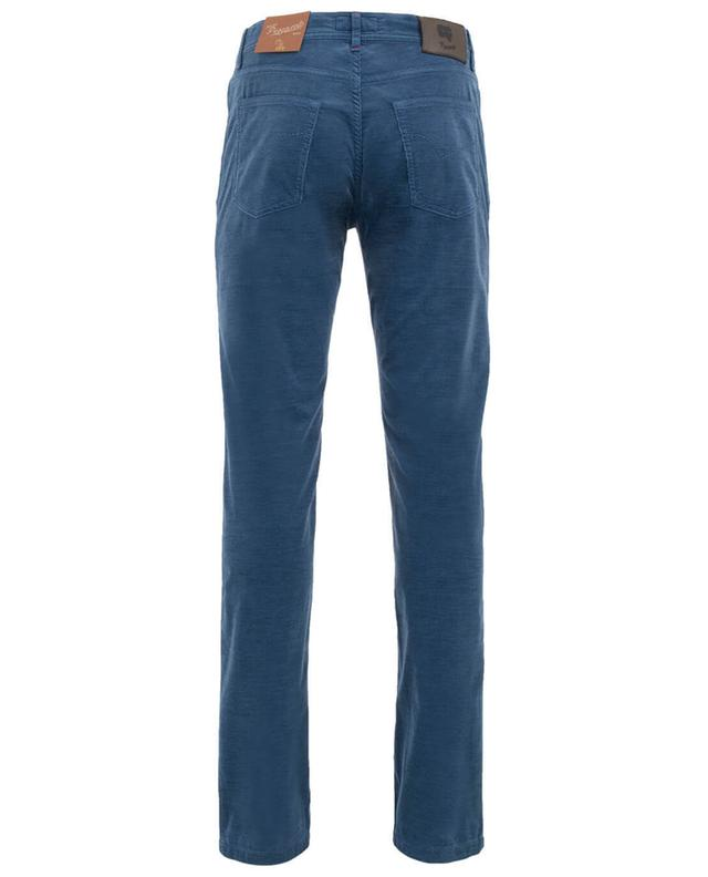 Cotton and virgin wool blend trousers MARCO PESCAROLO