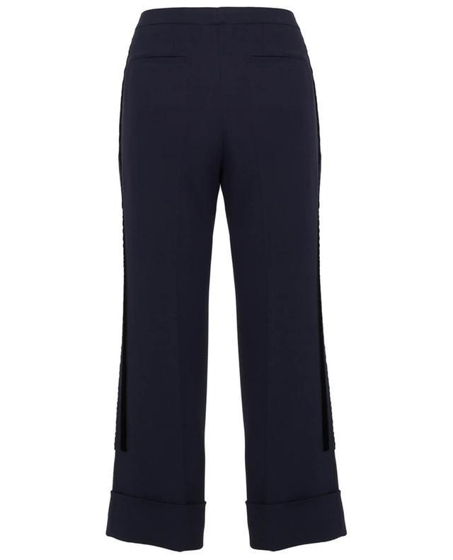Pantalon en viscose mélangée N°21