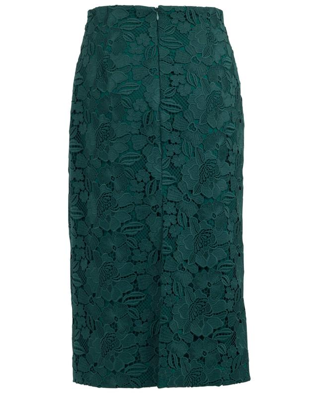 Guipure pencil skirt N°21