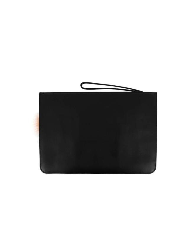 Embellished leather pouch KENDALL & KYLIE