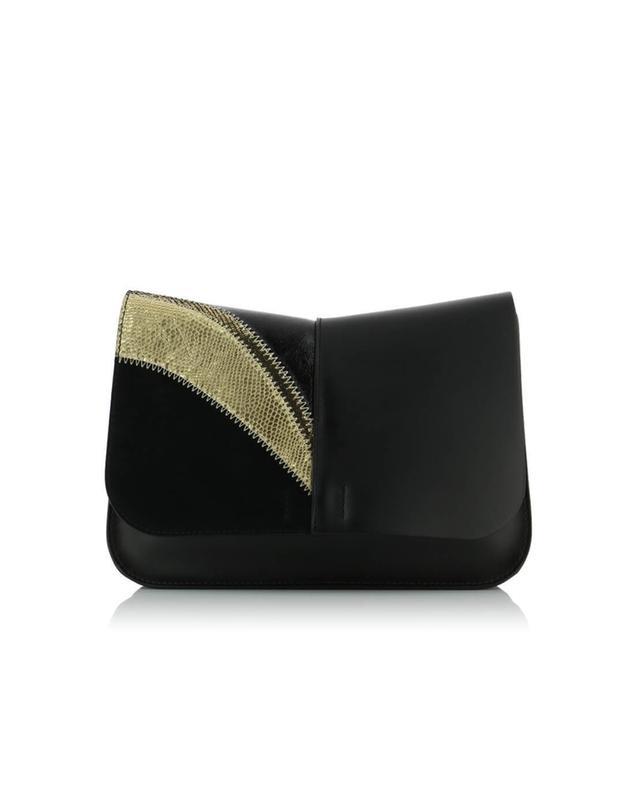 Leather shoulder bag GIANNI CHIARINI