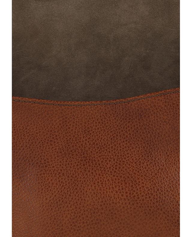 Umhängetasche aus genarbtem Leder GIANNI CHIARINI
