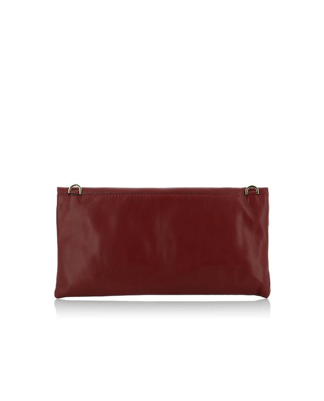 Prezioso leather clutch GIANNI CHIARINI