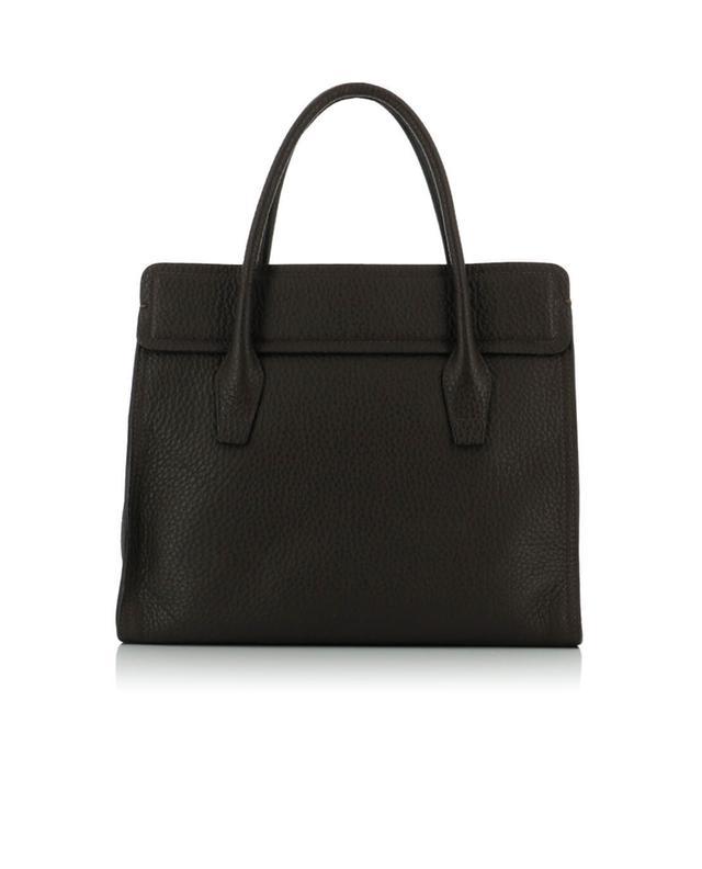 Textured leather handbag GIANNI CHIARINI