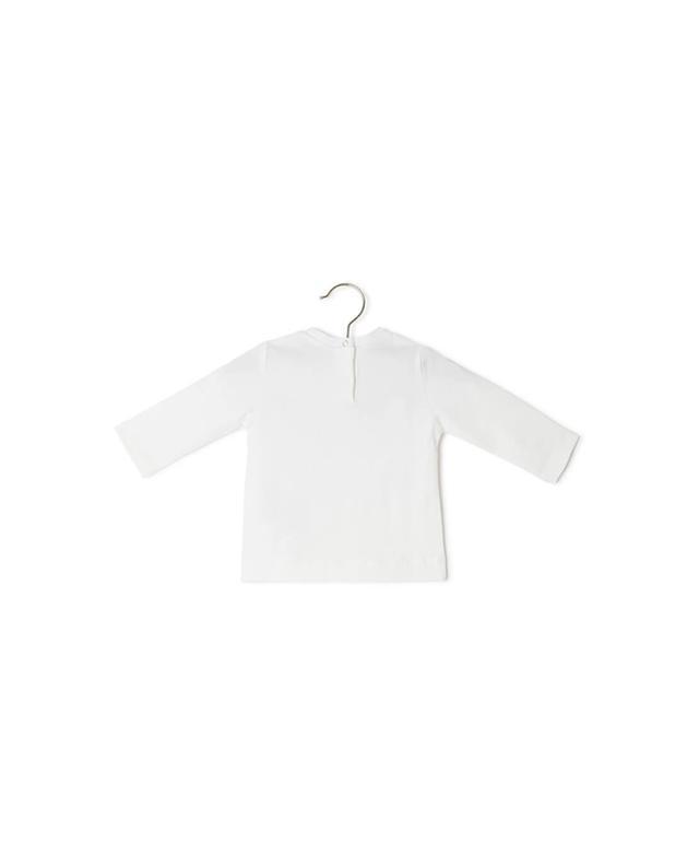 Long-sleeved cotton blend t-shirt MONNALISA
