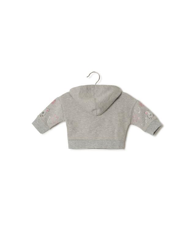 Cotton blend sweatshirt MONNALISA