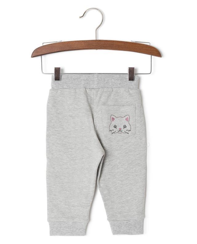 Pantalon de jogging en coton mélangé MONNALISA