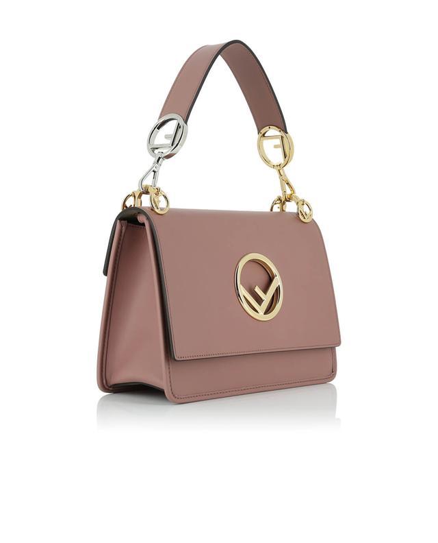 Fendi kan i f leather shoulder bag pink a44869