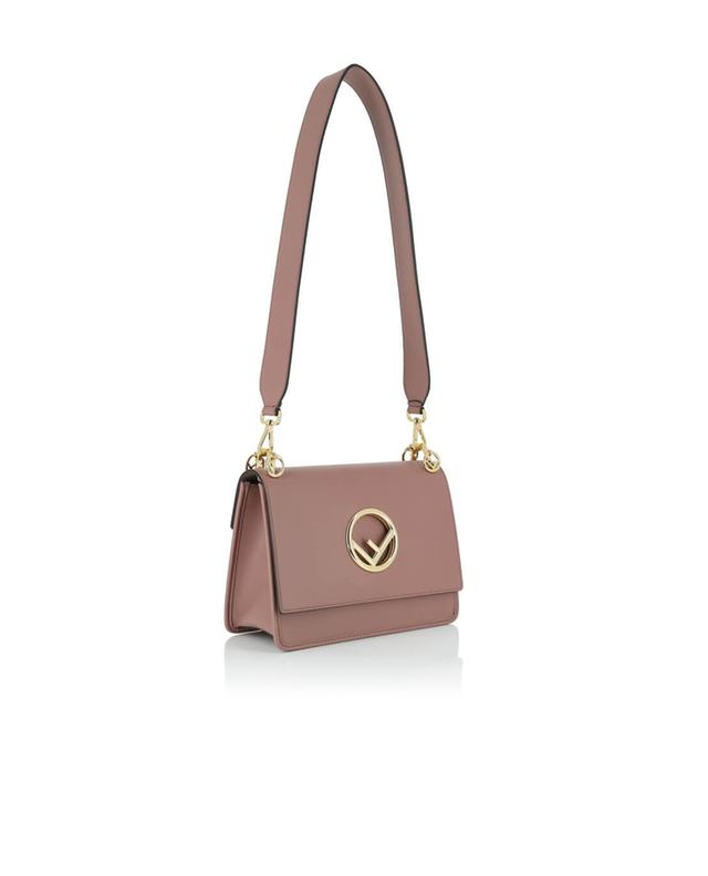 Fendi kan i f leather shoulder bag pink a44869