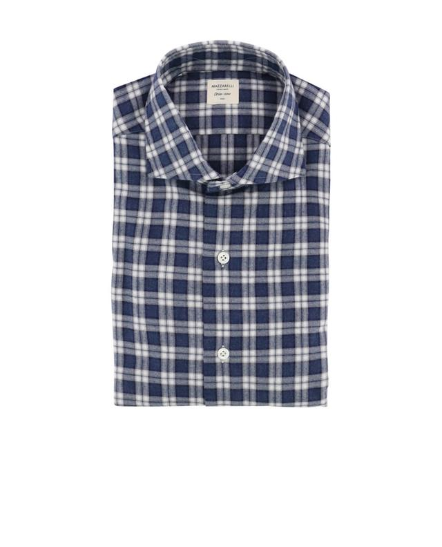 Cotton flannel shirt MAZZARELLI