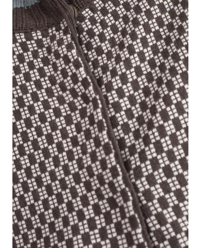 Jacquard-Cardigan aus Wolle und Kaschmir HEMISPHERE