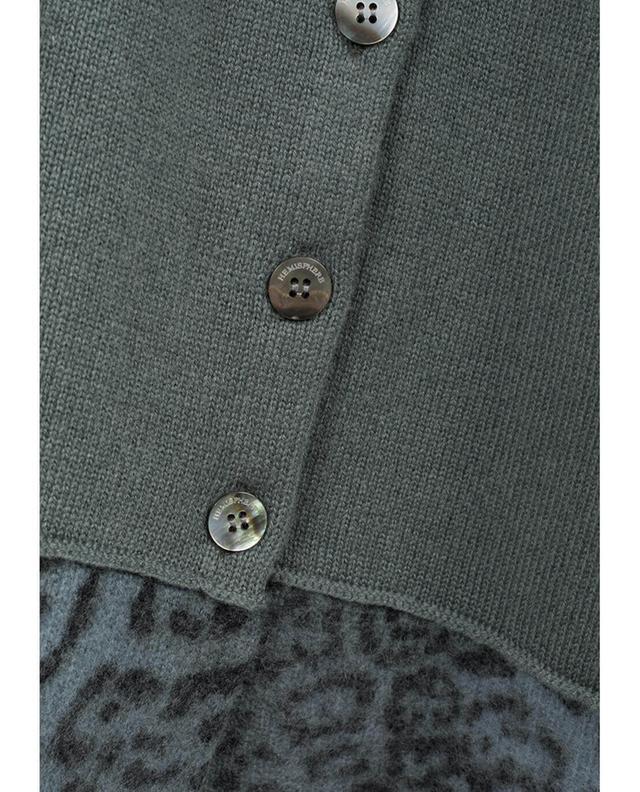 Wool and cashmere blend cardigan HEMISPHERE