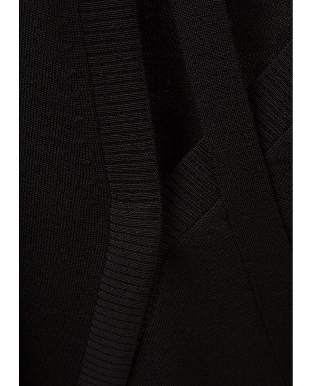 Cardigan long en laine AKRIS PUNTO
