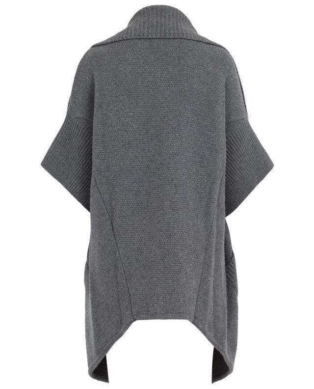 Cardigan en laine superfine Pelisse STEFAN GREEN