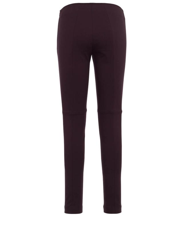 Pantalon slim en cuir Fancy AKRIS PUNTO