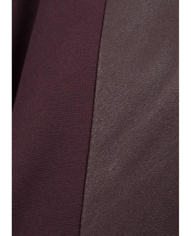 Pantalon slim en cuir Fancy AKRIS PUNTO