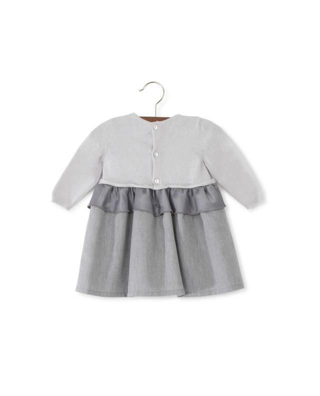 Materialmix-Kleid PER TE