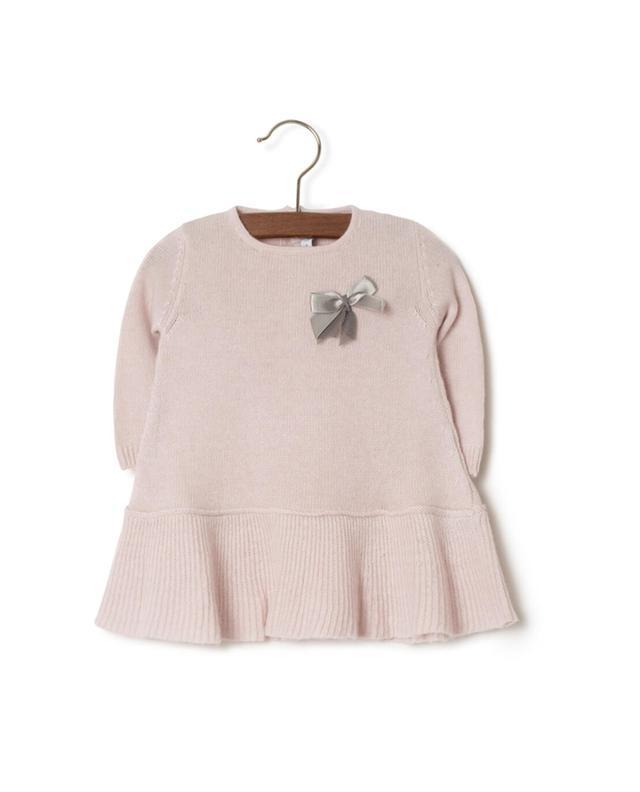 Virgin wool blend knit dress PER TE