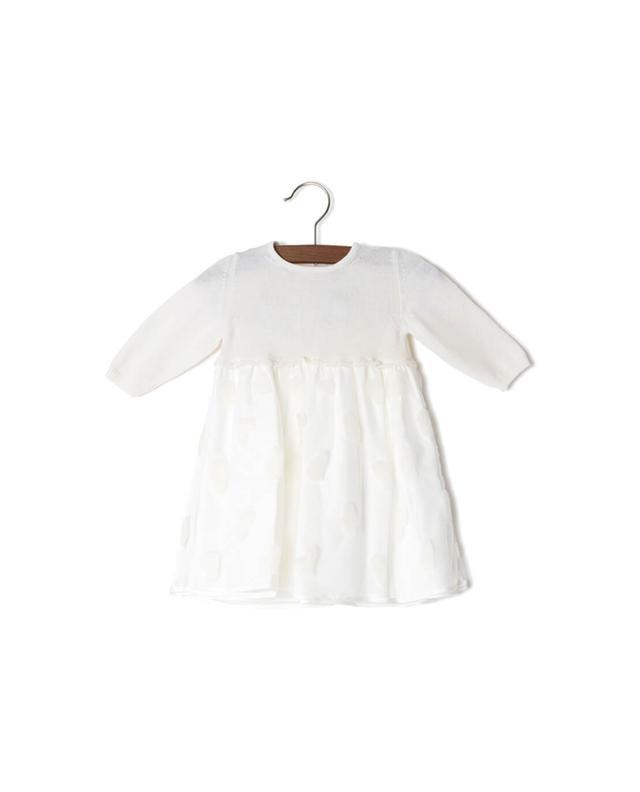 Modal, cotton and wool dress PER TE