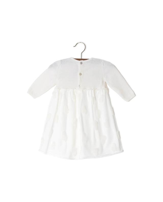 Kleid aus Modal, Baumwolle und Wolle PER TE