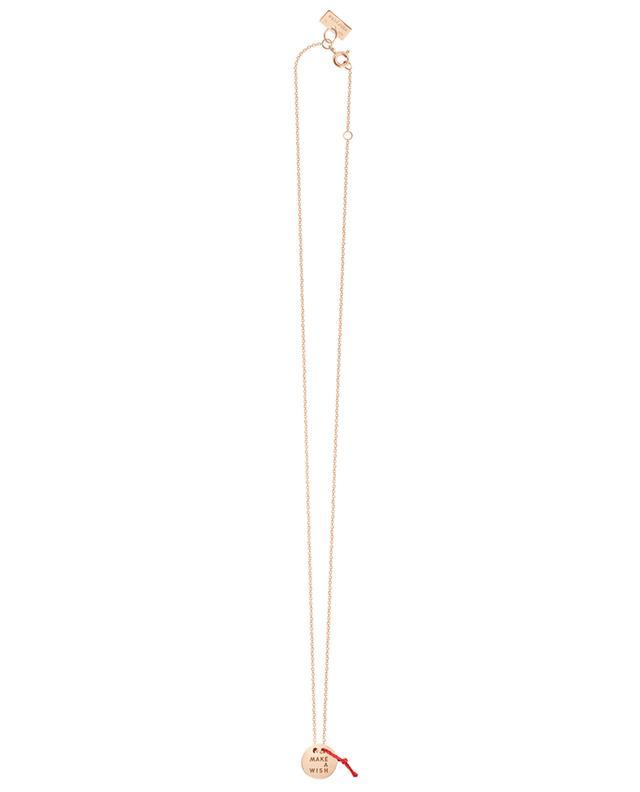 Vanrycke collier en or rose make a wish orrose a46483