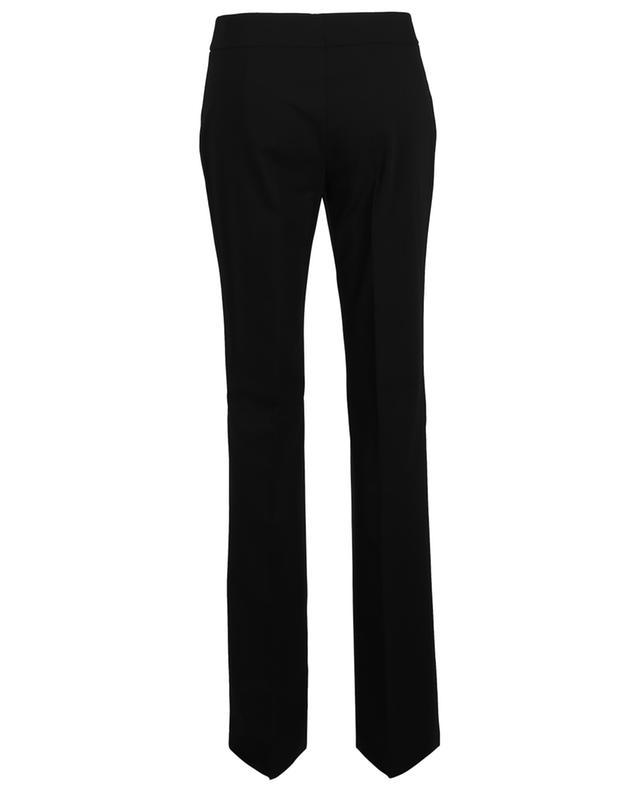 Karla Madison fluid straight fit wool trousers AKRIS PUNTO
