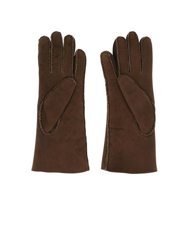 Shearling gloves AGNELLE