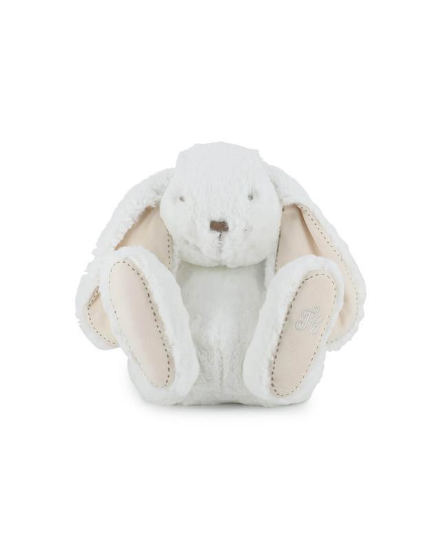 Tartine et chocolat fluffy bunny plush white a47256