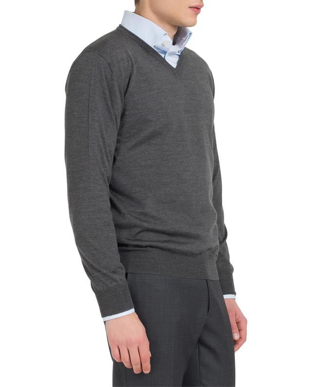 Light-weight merino wool and silk jumper MAURIZIO BALDASSARI