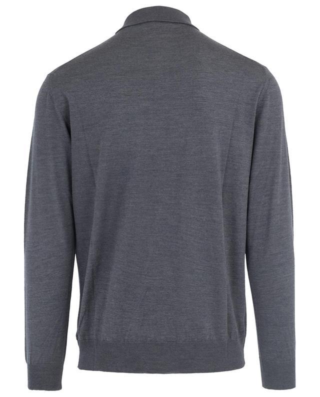 Merino wool and silk knit polo shirt BONGENIE GRIEDER
