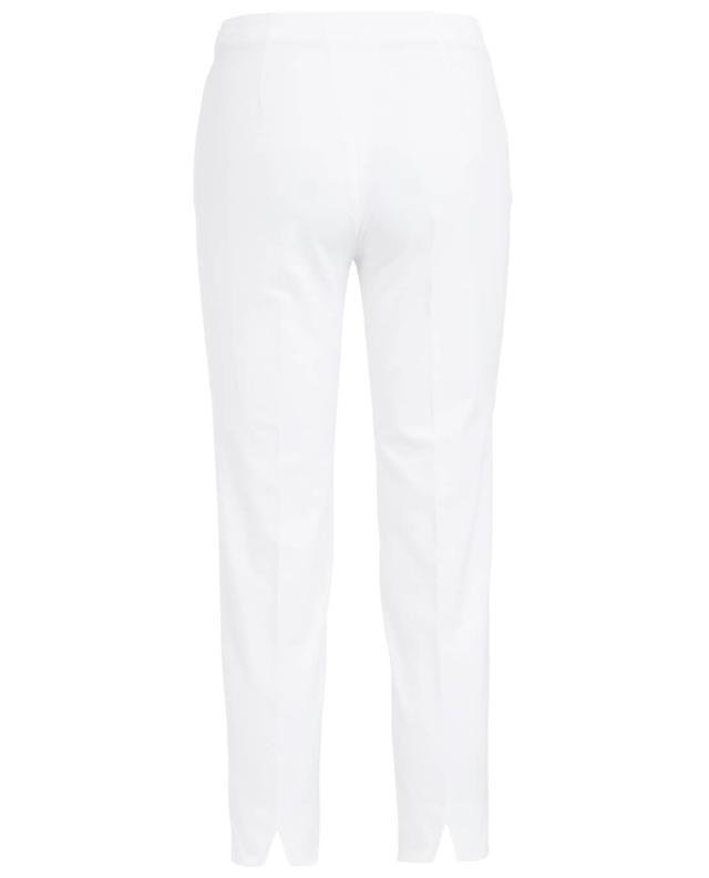 Stretchy cotton cigarette trousers PIAZZA SEMPIONE