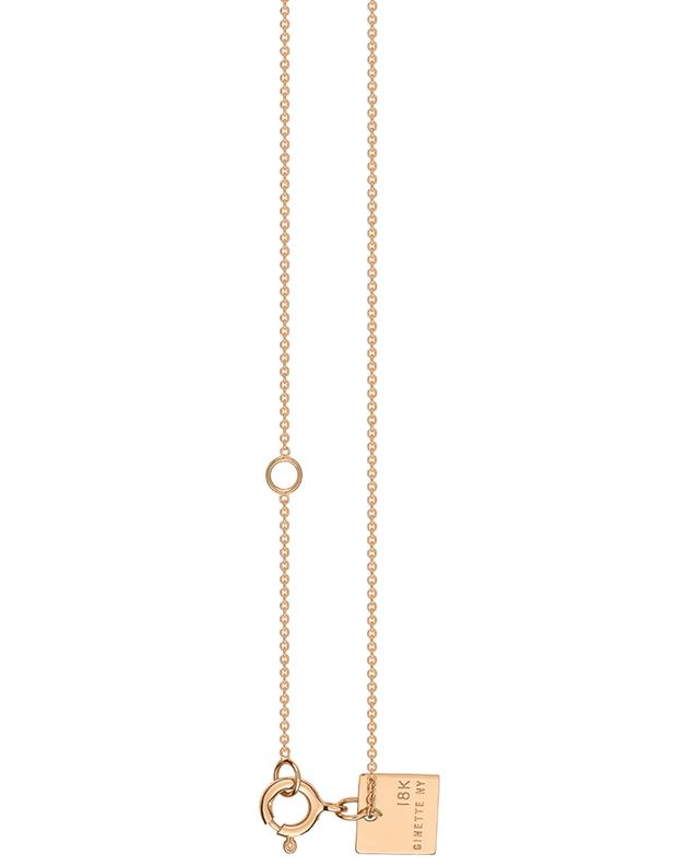 Chain 70 pink gold necklace GINETTE NY