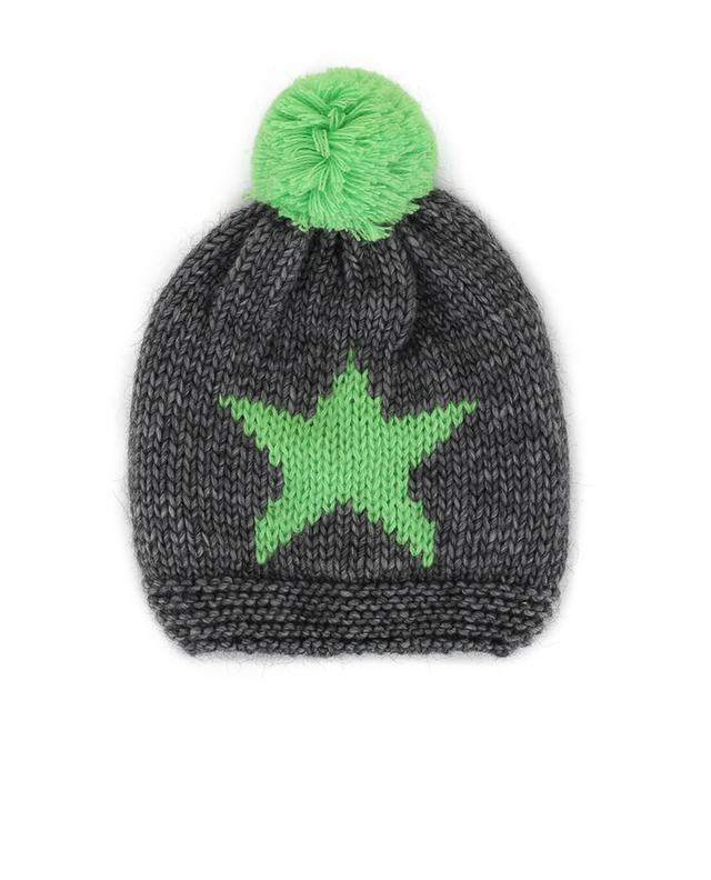 Headless Bonnet en laine mélangée Vert