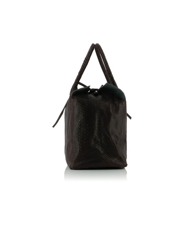 Let&her sac cabas en cuir medium vintage bordeaux a50475