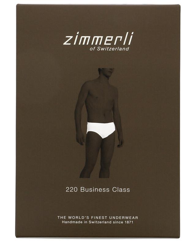 Zimmerli 220 business class cotton briefs white a51027