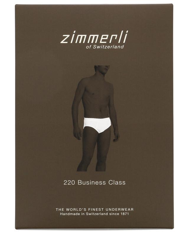 Zimmerli 220 business class cotton briefs black a51027