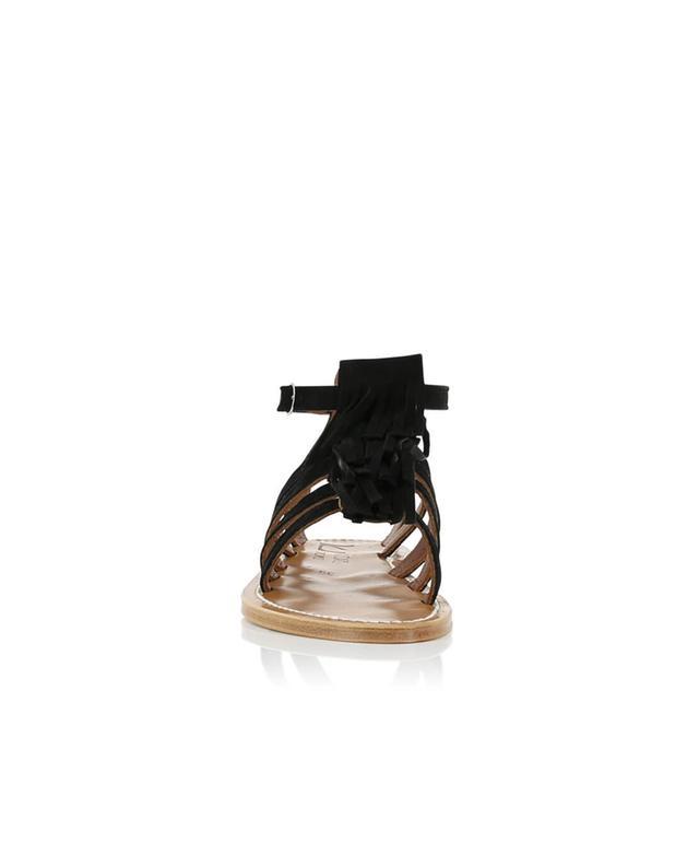 Sandales à franges en daim Fregate K JACQUES