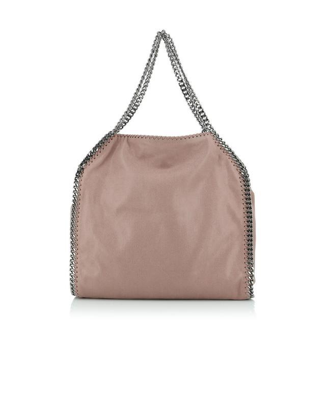 Stella mccartney falabella faux suede shoulder bag lightpink
