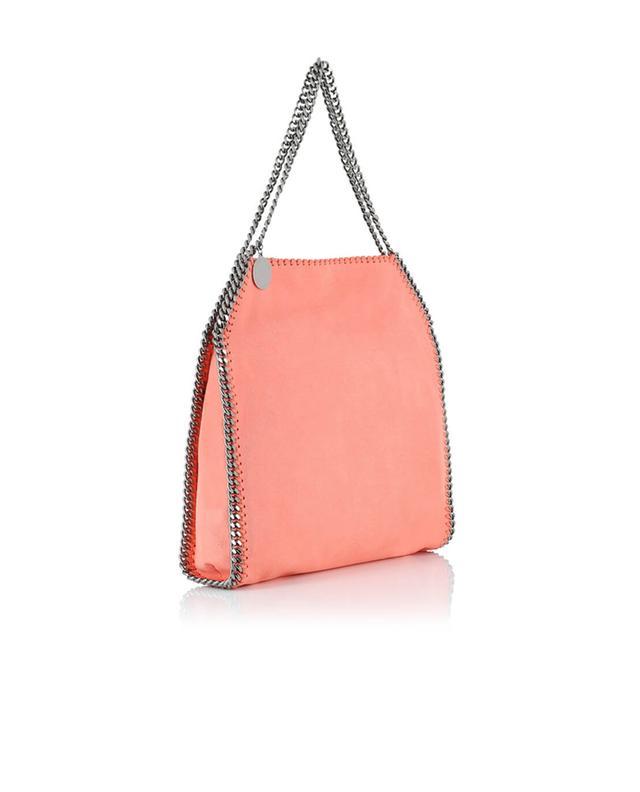 Stella mccartney falabella faux suede shoulder bag pink