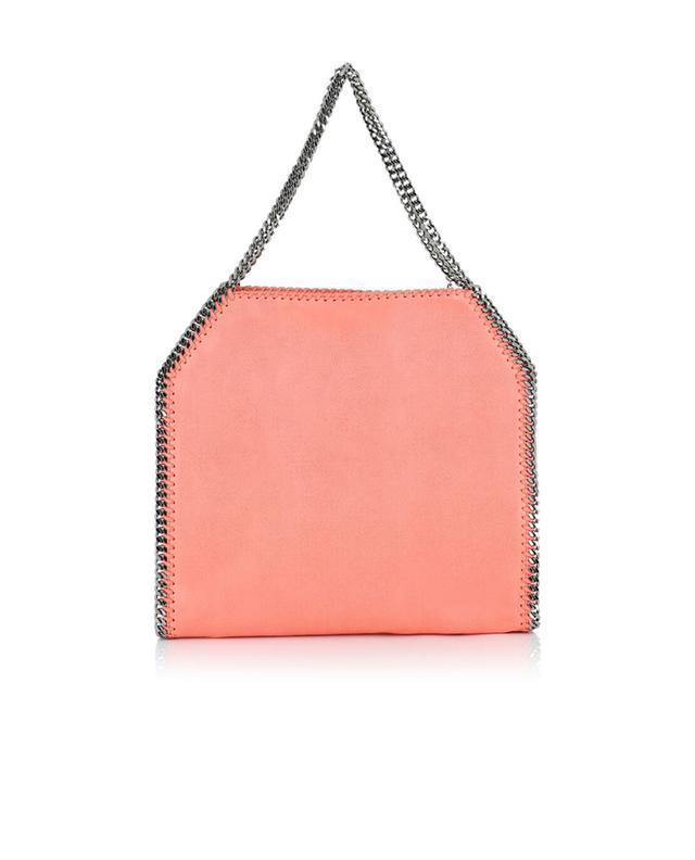 Stella mccartney schultertasche aus kunstwildleder falabella rosa