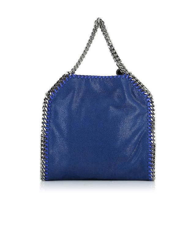 Stella mccartney falabella small faux-leather shoulder bag navyblue