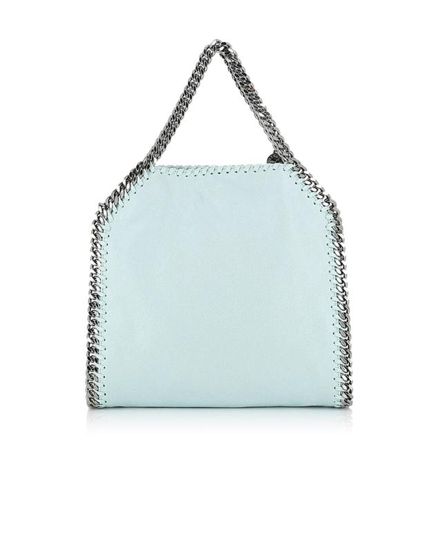 Stella mccartney falabella small faux-leather shoulder bag turquoise