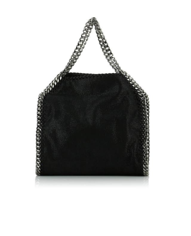 Stella mccartney falabella small faux-leather shoulder bag black