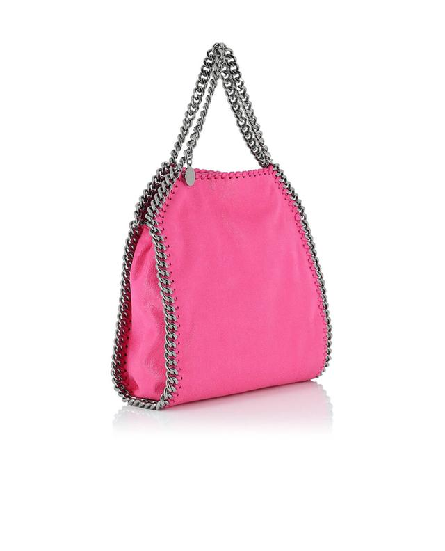 Stella mccartney falabella small faux-leather shoulder bag multicoloured2