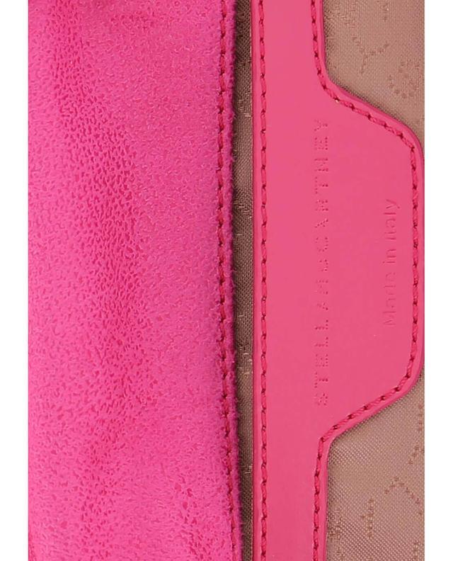 Stella mccartney petit sac porté épaule en daim synthétique falabella multicolore2