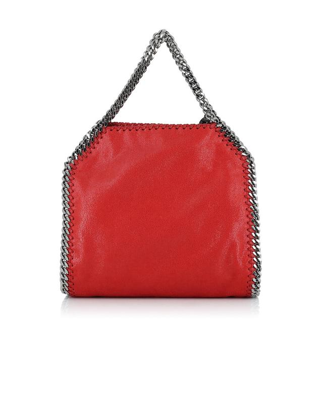 Stella mccartney falabella small faux-leather shoulder bag red