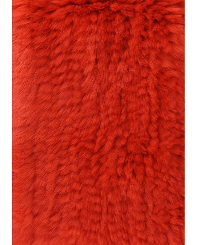 Schal aus Kaninchenpelz YVES SALOMON